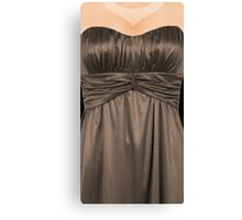 A dress to dress your phone Canvas Print