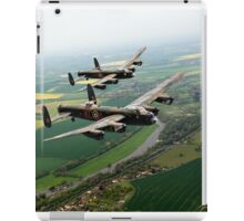 Two Lancasters over the Upper Thames iPad Case/Skin
