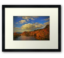 Time to Go Fishing Framed Print