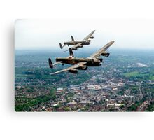 Two Lancasters over High Wycombe Canvas Print