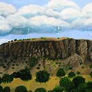 Storm over Black Mesa by cruserart