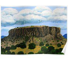 Storm over Black Mesa Poster