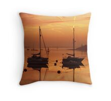 Before the dawn (1) Throw Pillow