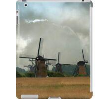 Dutch windmills iPad Case/Skin