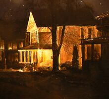 Maple Street Nocturne by Thomas Akers