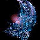 Blue Curves by Ann Garrett