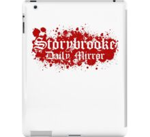 OnceUpon a Time - Storybook Daily Mirror iPad Case/Skin