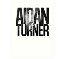 Aidan Turner Art Print