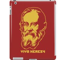 "Galileo ""Viva Heresy"" iPad Case/Skin"