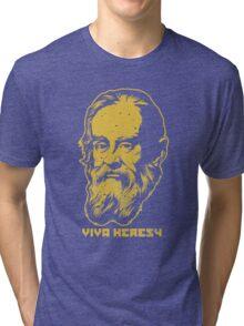 """Galileo """"Viva Heresy"""" Tri-blend T-Shirt"""