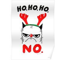 HO HO NO Poster