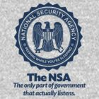 The NSA by LibertyManiacs