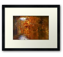 Moonrise Over the Seas of Hades Framed Print