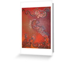 'Eastern Fusion' Greeting Card