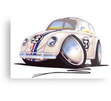 VW Beetle - Herbie Metal Print