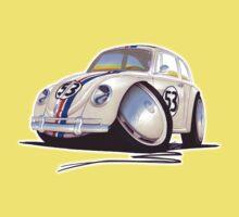 VW Beetle - Herbie One Piece - Short Sleeve