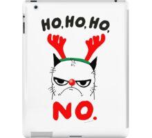 HO HO NO iPad Case/Skin