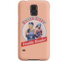 Roller Derby Double Header Samsung Galaxy Case/Skin