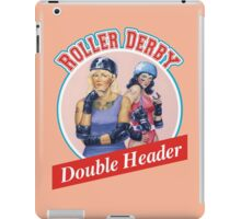 Roller Derby Double Header iPad Case/Skin