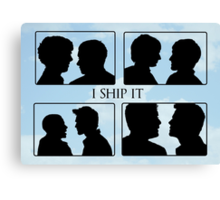 I Ship It II Canvas Print