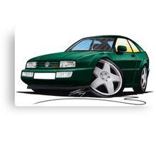 VW Corrado Green Canvas Print