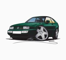 VW Corrado Green Kids Tee