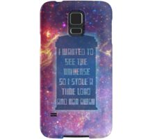 See the Universe Samsung Galaxy Case/Skin