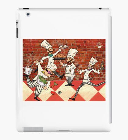 Mario Brothers, Italian Chefs iPad Case/Skin