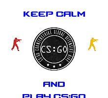 Keep Kalm And Play CS:GO by CryptheRed