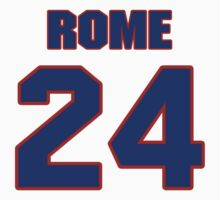National Hockey player Aaron Rome jersey 24 by imsport