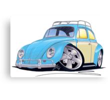 VW Beetle (Custom B) Canvas Print