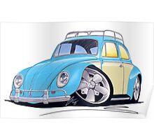 VW Beetle (Custom B) Poster
