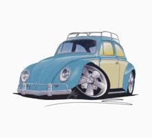 VW Beetle (Custom B) Kids Tee