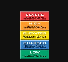 The Homeland Security Advisory System scale Unisex T-Shirt