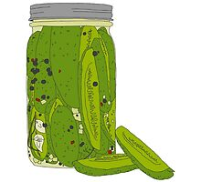 Jar of Pickles by markbot