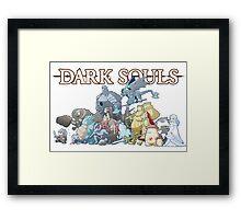 Dark Souls Horde Framed Print