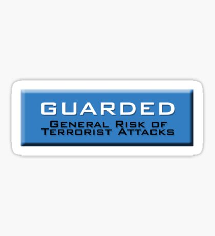 Guarded (Homeland Security Advisory System chart) Sticker