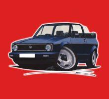VW Golf (Mk1) Cabriolet Dark Blue Kids Clothes