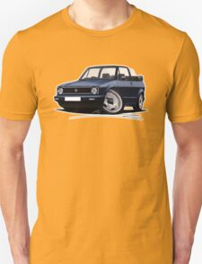 VW Golf (Mk1) Cabriolet Dark Blue T-Shirt
