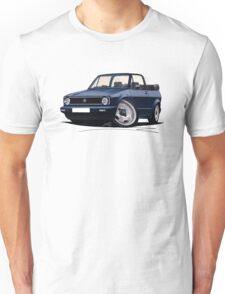 VW Golf (Mk1) Cabriolet Dark Blue T-Shirt