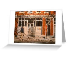 War at Home Greeting Card