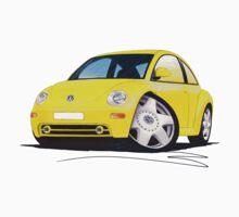 VW New Beetle Yellow by Richard Yeomans