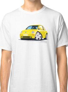 VW New Beetle Yellow Classic T-Shirt