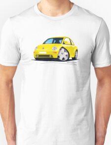 VW New Beetle Yellow T-Shirt