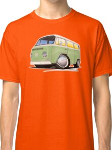VW Bay Window Camper Van Light Green Classic T-Shirt