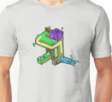 Perspective-Windmill Unisex T-Shirt