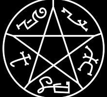 The Devil's Trap (on Black) by MeitisMitsune