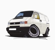 Volkswagen T4 Transporter (Bumper) White by Richard Yeomans