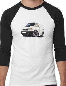 Volkswagen T4 Transporter (Bumper) White Men's Baseball ¾ T-Shirt