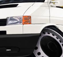 Volkswagen T4 Transporter (Bumper) White Sticker